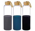 Jeans Glass bottle with Silicone Sleeve