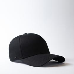 5 Panel Snapback Curved Cap