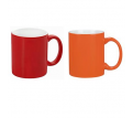 Toronto Can Mug, Two Tone White/Red White/Orange