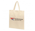 Calico Bag Natural – Short Handle