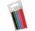 6 Pack Kids Colouring Pencils