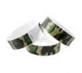 Camouflage Full Color 25mm Tyvek Wristband