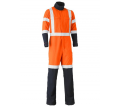 TENCATE TECASAFE® PLUS TTMC-W X TAPED HI VIS FR VENTED COVERALL