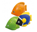 Stress Fish (Orange, Green, Blue)