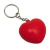 Stress Heart Key Ring
