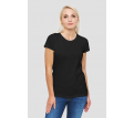 Womens Black Essential Tee