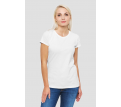 Womens White Essential Tee