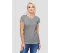 Womens Marle-Grey Essential Tee