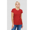 Womens Red Essential Tee