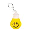 Stress Light Bulb Key Ring