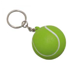 Stress Tennis Ball Key Ring