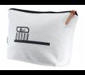Calico Toiletry/Makeup Bag