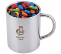 M&M's in Stainless Steel Java Mug