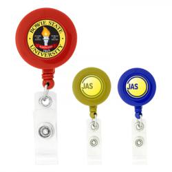 BioGreen Round-Shaped Retractable Badge Holder