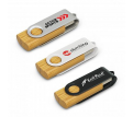 Helix 4GB Bamboo Flash Drive
