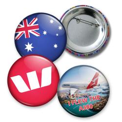 St Patrick Button Badges