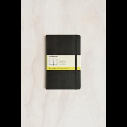 Moleskine - Classic - Large (13x21cm) - Plain Notebook - Black - Hard Cover