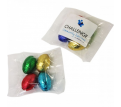 Mini Solid Easter Eggs in Bag x4 Eggs