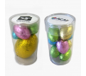 Pet Tube filled with Easter Eggs