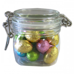 Small Canister with Mini Easter Eggs