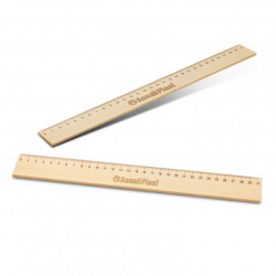 Wooden 30cm Ruler