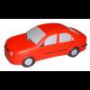 Red Stress Sedan