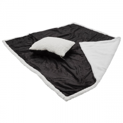 Sherpa 2-in-1 Pillow Blanket