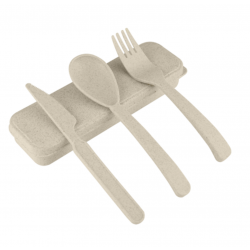 Wheat Straw Utensils Set