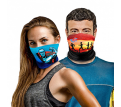 Elite Custom Neck Gaiter Multi-Purpose Face Covering – Factory Direct