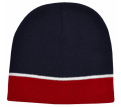 Acrylic Beanie Two Tone with Piping