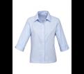 Ladies Luxe 3/4 Sleeve Premium Cotton Shirt