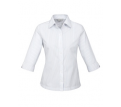 Ladies 3/4 Sleeve Windsor Shirt